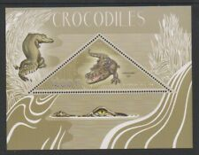 Congo - 2014,1200f Crocodiles Feuille - MNH