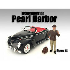 REMEMBERING PEARL HARBOR FIGURE III FOR 1:24 SCALE MODELS AMERICAN DIORAMA 77474