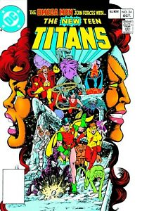 """THE NEW TEEN TITANS #24 COMIC BOOK COVER 11""""x17"""" POSTER PRINT"""