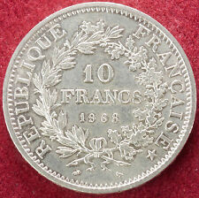 France 10 francs 1968 argent (D2007)