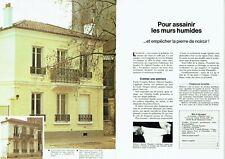 Publicité Advertising 109 1979 Rubson spécial façades  murs humides (2 pages)