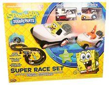 SPONGEBOB SQUAREPANTS SUPER RACE TRACK SET - BRAND NEW!!!