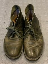 Clarks Original Distressed Leather Desert Boots Uk Size 6