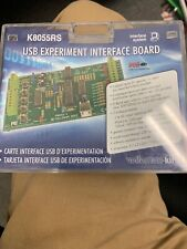 NEW IN BOX VELLEMAN K8055RS USB EXPERIMENT INTERFACE BOARD KIT  FAST SHIP