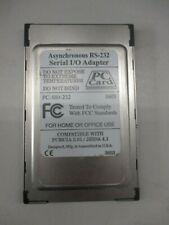 Single Port Rs-232 Serial Cardbus Asynchronous Pcmcia Card