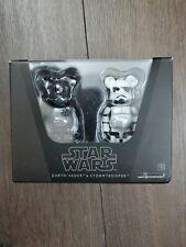 Medicom Be@rbrick Star Wars 100% Darth Vader & Stormtrooper Bearbrick set 2009