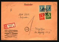 Germany DDR 1946 Thuringia Registered Arnstadt Cover (See Notes) - Z17214