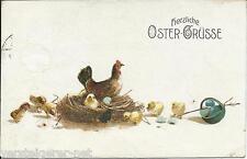 "Postkarte ""Herzliche Oster-Grüsse""  um 1917 Osterkarte"
