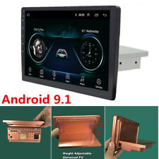 "10.1"" 1Din Android 9.1 Quad-Core 2GB/32GB Adjustable Car Stereo Radio GPS Wifi"