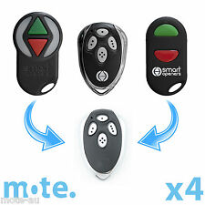 4 x Smart Openers Remote Garage N16348/Nano/Roller Disc/Smart Lifter Replacement