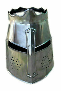 Medieval Crusader Helmet - Wearable Costume