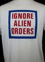 Ignore Alien Orders T-shirt Joe Strummer Telecaster The Clash Screen Printed