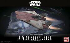 100% Authentic Bandai Star Wars 1/72 A-Wing Starfighter Model Kit BAN206320