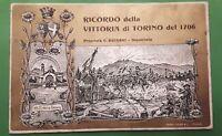 Cartolina - Ricordo della Vittoria di Torino del 1706 - 1907