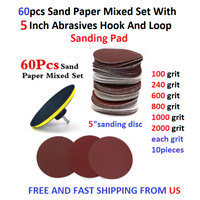"""SWISS MADE 50 5/"""" disc 80 grit Blue Line sand paper SIASPEED 125mm Sia Abrasives"""