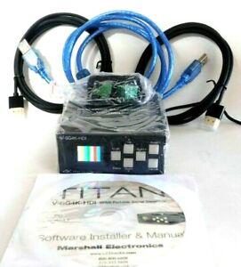 Marshall Electronics V-SG4K-HDI 4K HDMI Portable Signal Generator @A10