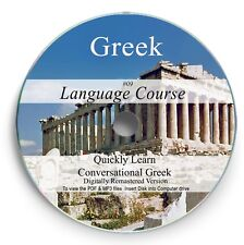Learn to Speak Greek - Language Course - 23Hrs Audio MP3 3 Books on DVD 09