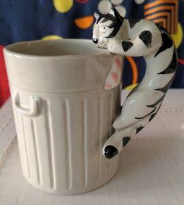 Vintage Takahashi Tom Cat Hand Painted Mug Made in Japan