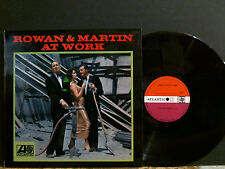 ROWAN AND MARTIN  Rowan And Martin At Work  LP  Comedy  UK orignal  NEAR-MINT !!