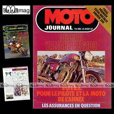 MOTO JOURNAL N°386 ANDRE MALHERBE DANIEL PEAN DAKAR COUPE DE L'ARMISTICE '78
