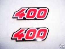 """2 pegatina"""" 400"""" antes en MX 400 00-02 VERTEMATI 99 nuevo"""