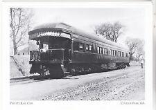 "*Postcard-""Private Rail Car"" (Early 1900's)  CLASSIC- *College Park GA (#153)"