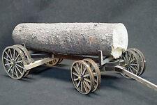 HEAVY DUTY LOG WAGON G F 1:20.3 Scale Model Railroad Unptd Wood Laser Kit GMHDF