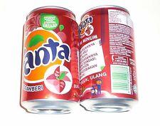 FANTA Can MALAYSIA 330ml STRAWBERRY STRAWBERI Flavour Coca Cola 2011 Asia NEW