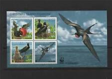 Christmas Is 2010 WWF Frigate Birds 4v MS MNH
