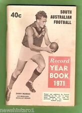 #D13.  SOUTH  AUSTRALIAN RULES FOOTBALL YEAR BOOK 1971