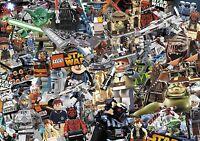 lego stickerbomb wrap (vehicle wrap/ cast vinyl) @ 1.3m X 1.7m  STARWARS/KIDS