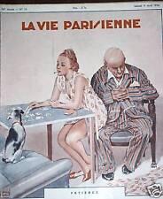 LA VIE PARISIENNE 1938 N° 15 LEONNEC - HY FOURNIER