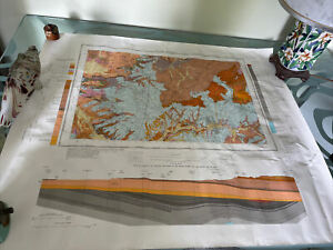 Old Geological Survey  Map Melton Mowbray