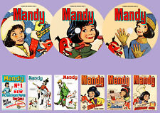Mandy UK Comics & Books On 3 DVD Rom's