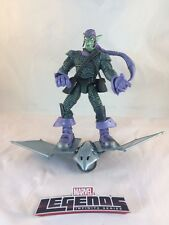 MARVEL LEGENDS TOY BIZ 2003 (S.C. SER.7) GREEN GOBLIN W/GLIDER 1:12 FIGURE