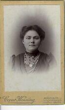 PAYS-BAS BREDA Henning une femme pose CDV photo cica 1890
