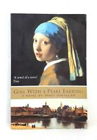 Girl with a Pearl Earring by Tracy Chevalier historical fiction novel used PB