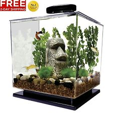 Tetra 29095 CUBE AQUARIUM KIT 3-GALLON FISH TANK NEW FREE 2 DAY SHIPPING