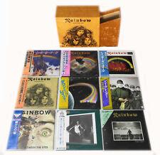 Rainbow - 9 Mini LP CD Japan 2001 + Promo-Box VERY RARE OOP Ritchie Blackmore!!!