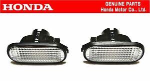 HONDA GENUINE CIVIC EG6 SIR Front Fender Turn Marker Lamp Light Set OEM