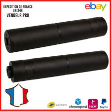 Silencieux Airsoft SWISS ARMS 180x35mm filetage 14mm antihoraire 605251