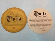 Beer Breweriana Coaster ~ SIERRA NEVADA Brewing, Chico, CALIFORNIA ~ OVILA ABBEY