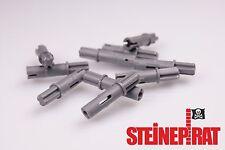 LEGO® 10x 11214 ***NEU*** Achsverbinder / Verbinder / Achse / Pin / dunkelgrau