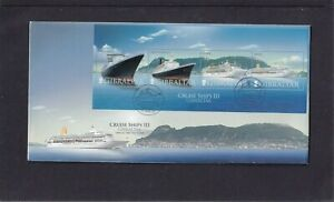 Gibraltar 2007 Cruise Ship QE2 Queen Mary 2 Oriana Oceana MS First Day Cover FDC