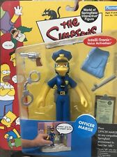 THE SIMPSONS World of Springfield WOS Officer Marge SERIES 7 Action Figure NIB