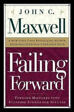 Failing Forward by John C Maxwell FREE SHIPPING Christian paperback book