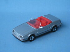 Matchbox Cadillac Allante Silver Body Cabriolet USA Sports Car Boxed