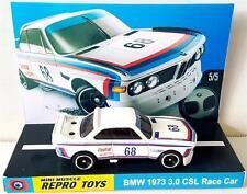 Hot Wheels 1:64 e9 BMW 1973 3.0 CSL Race Car on Custom Repro Display Base