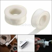 5x PTFE White Thread Pipe Tape Plumbers Sealing 20m x18mm Fitting Sealant