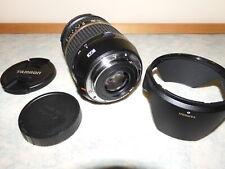 Tamron EFS 17-50 mm 2.8 VC Canon avec filtre Hoya MC